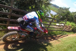 Rômulo Bottrel, piloto de Enduro FIM do Team Rinaldi