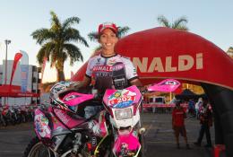 Bárbara Neves defende o Team Rinaldi