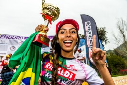 Bárbara Neves é destaque do Team Rinaldi